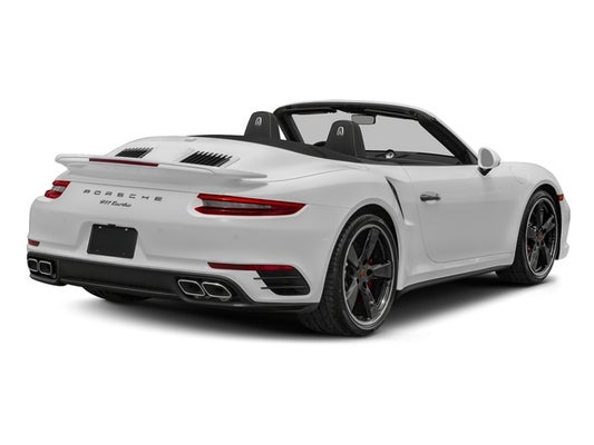 2017 Porsche 911 Turbo Cabriolet In Melbourne Fl Mercedes Benz Of