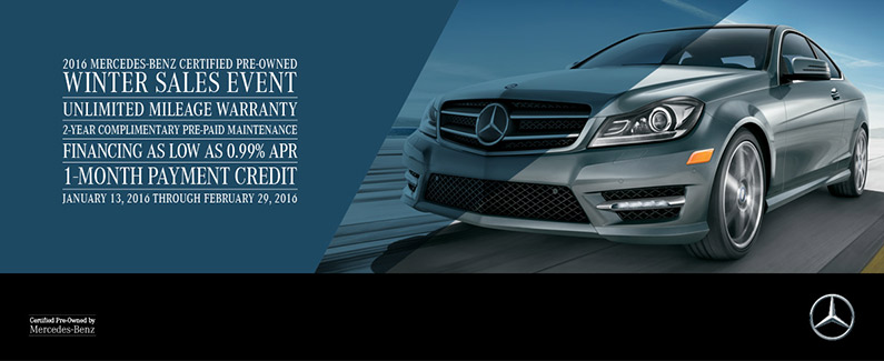 Why you should consider a certified pre owned mercedes for Mercedes benz certified pre owned sales event